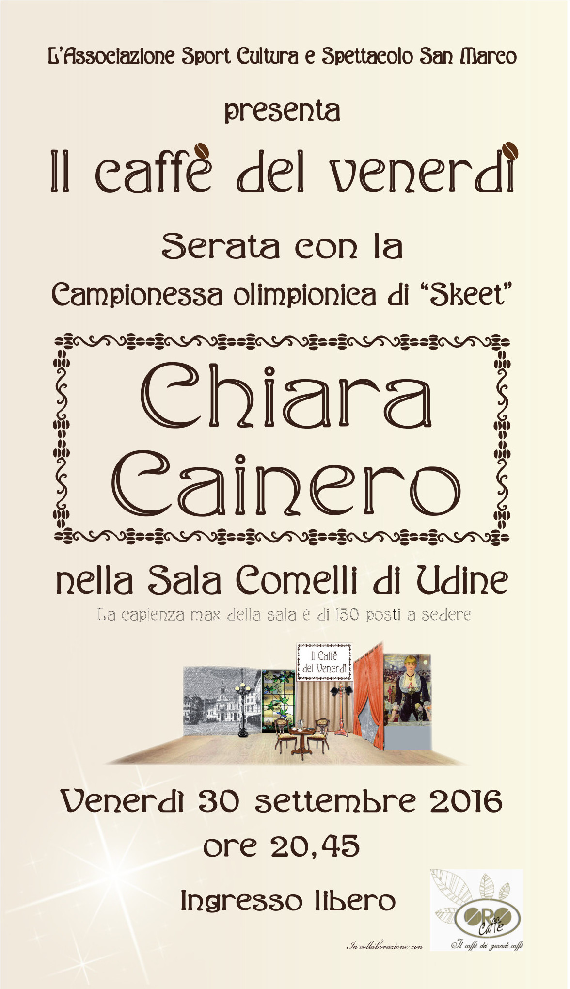 Locandina Chiara Cainero